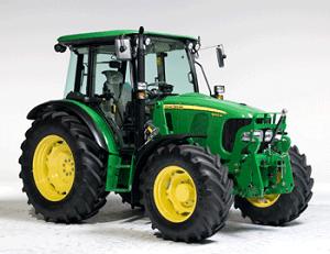 isnuomuojamas traktorius